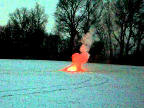 Thermite and ICE Explosion, cam 2