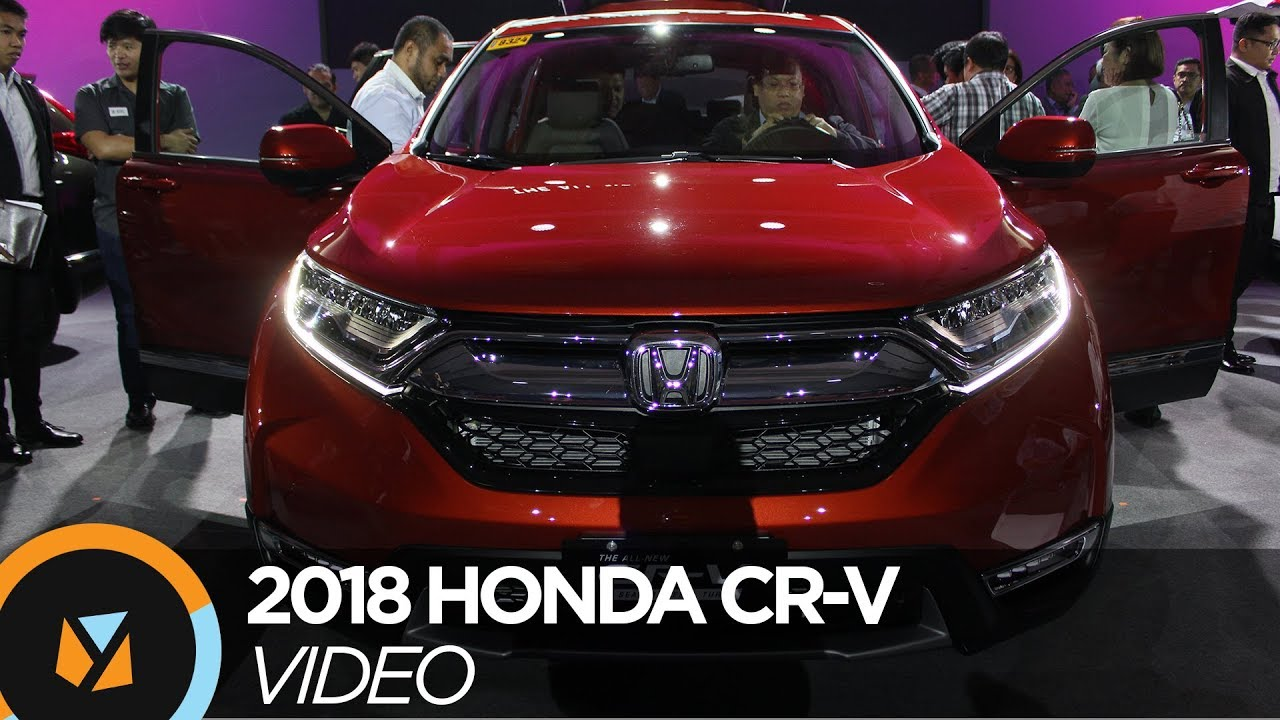 2018 Honda Cr V Launched In The Philippines Youtube