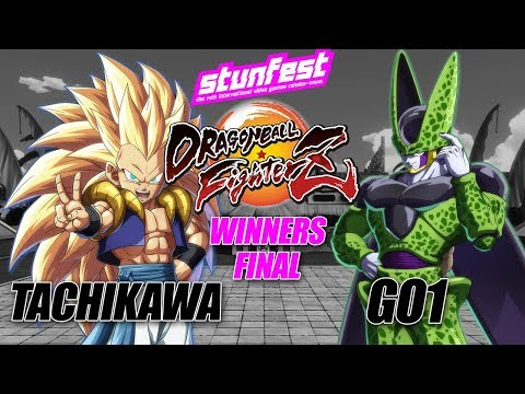 Stunfest 2018 - Tachikawa vs Go1 - Winners Finals - Dragon Ball FighterZ