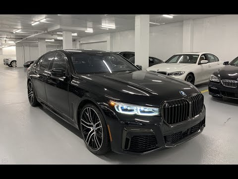 2020 BMW 750i xDrive FACELIFT - Revs + Walkaround 4k