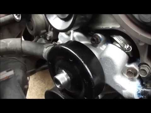 2000 Dodge Dakota Sport Water Pump Replacement V6 3.9L