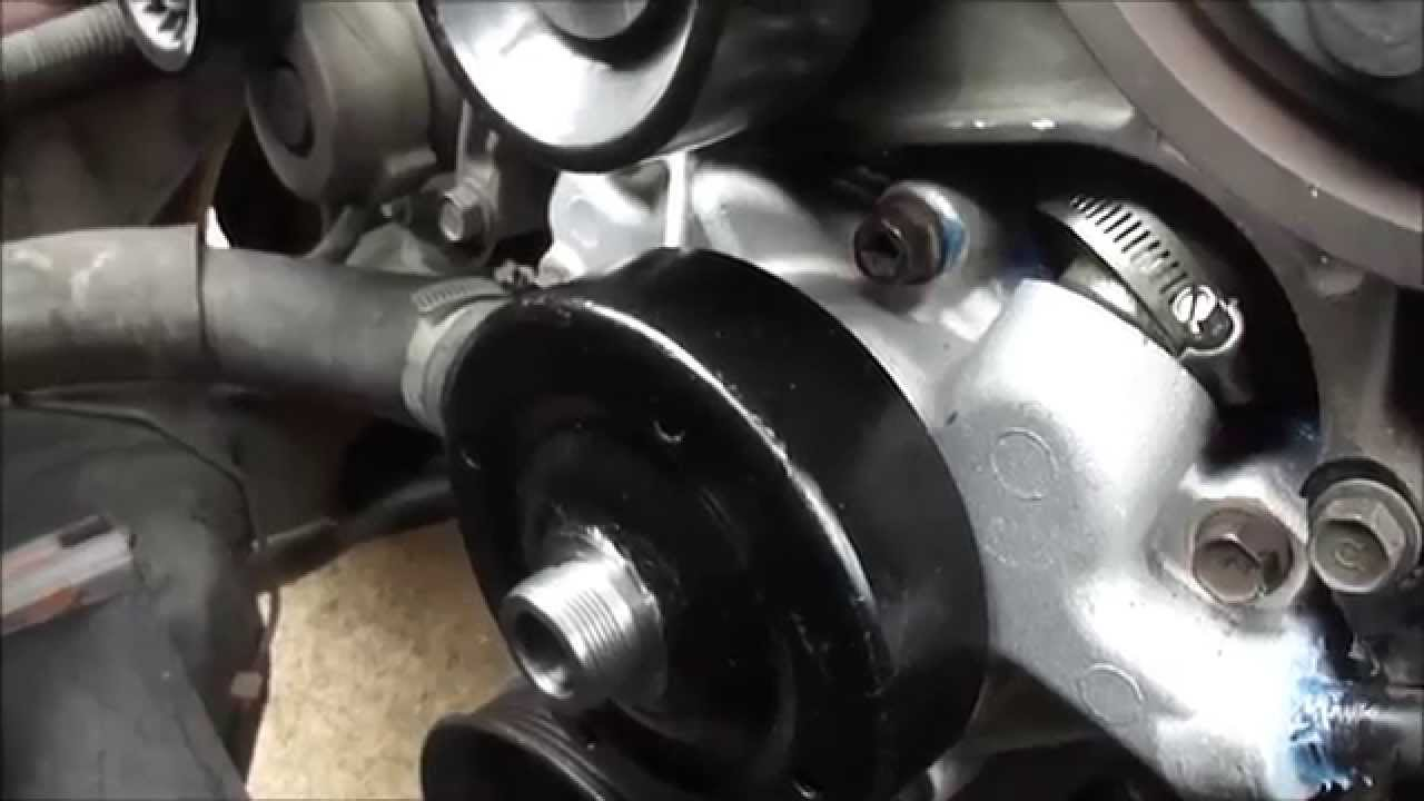 2000 Dodge Dakota Sport Water Pump Replacement V6 3 9l