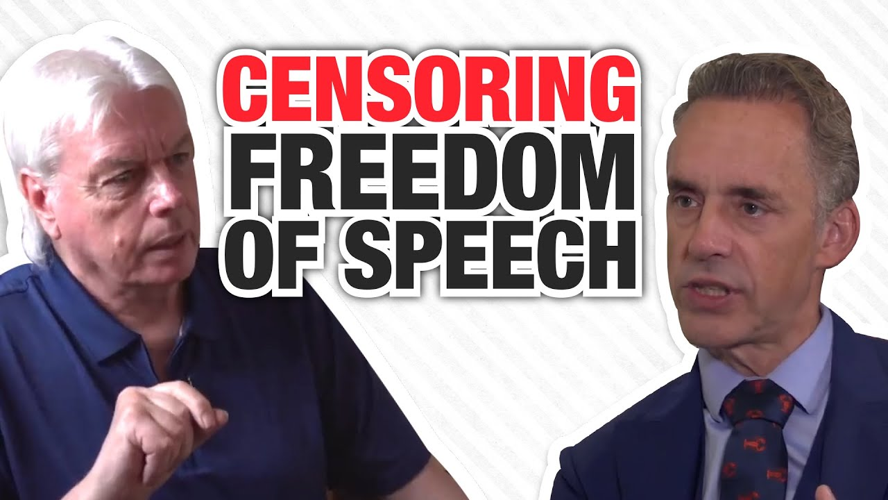 Should We Ever Censor Freedom of Speech? | David Icke | Jordan Peterson