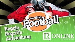 Wie spielt man American Football? Regeln, Begriffe, Aufstellung