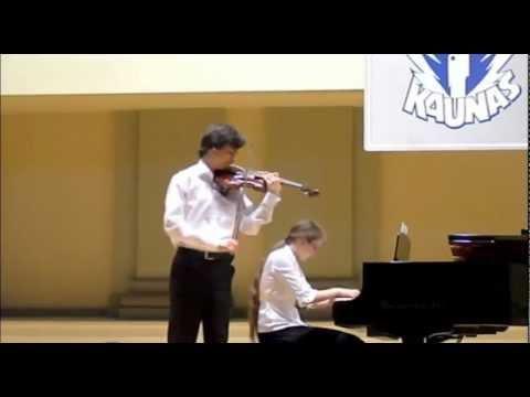 Lutoslawski - Subito for violin