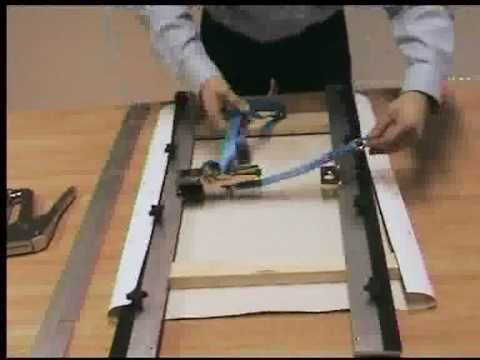 The Quickmate Manual Canvas Stretcher Youtube