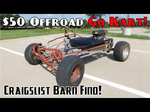 $50 Go Kart Find!