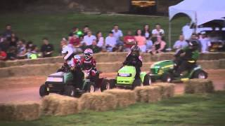 2015 STA-BIL Series Lawn Mower Racing at Bowles Farms in St. Mary's County, Maryland