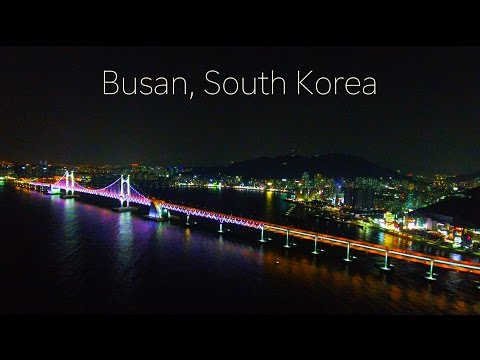 Phantom 4 - Busan, South Korea Footage [4K]
