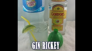 Gin Rickey Drink With A Side Of Soda Explosion!