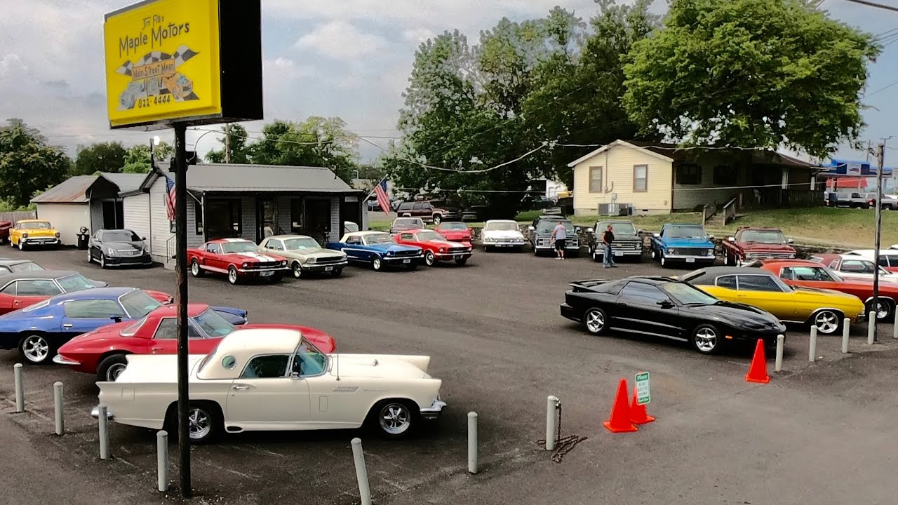 Classic Hotrods Muscle Car Lot Inventory Walk Around Maple Motors 7/26/21 Update