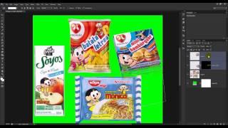 Recortes de Produtos no Photoshop para Encarte no Corel Draw X6
