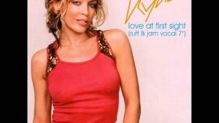 """Kylie Minogue - Love At First Sight (Ruff & Jam Vocal 7"""")"""