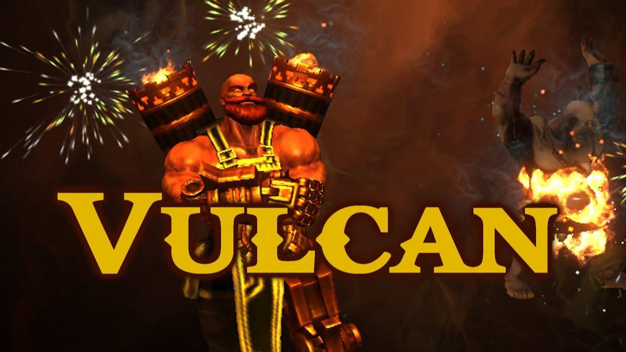 Smite vulcan gameplay i built that youtube - Vulcan wallpaper ...
