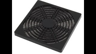 Dustproof 120mm Case Fan Dust Filter Guard Grill Protector Cover PC Computer DX