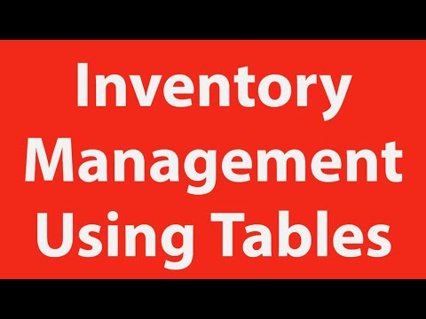 inventory-management-using-tables-in-excel