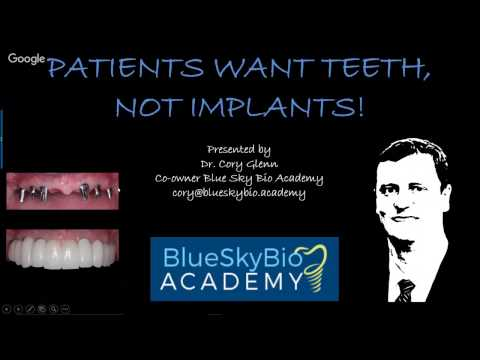 Patients Want Teeth, Not Implants