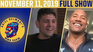 """The Rock,"" Nick Diaz, Stipe Miocic 
