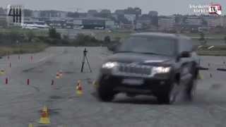 Jeep Grand Cherokee falla en la prueba alce (Subtítulos en Español)