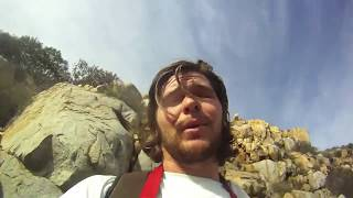 Vlog. East county San Diego hiking a mountain.