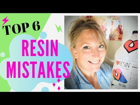 Top 6 Resin Epoxy Mistakes for Beginners