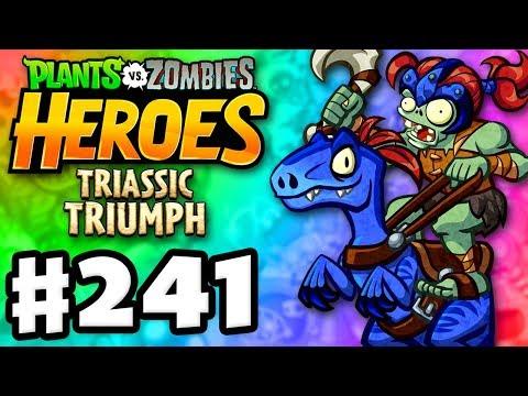 Raiding Raptor Legendary! - Plants vs. Zombies: Heroes - Gameplay Walkthrough Part 241