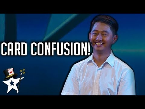 Magician Confuses Judges With Card Magic on Cambodia's Got Talent | Magicians Got Talent