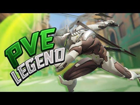 Beating Overwatch PvE On Legendary Difficulty! - Seagull