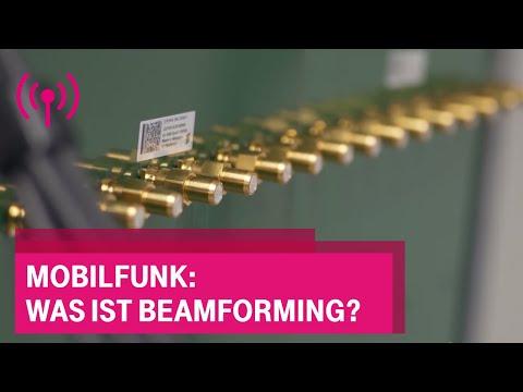 Social Media Post: Mobilfunk: Was ist Beamforming?