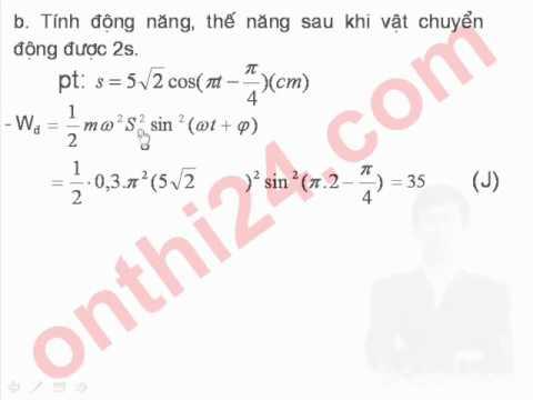 3 Bai toan ve phuong trinh dao dong cua con lac don