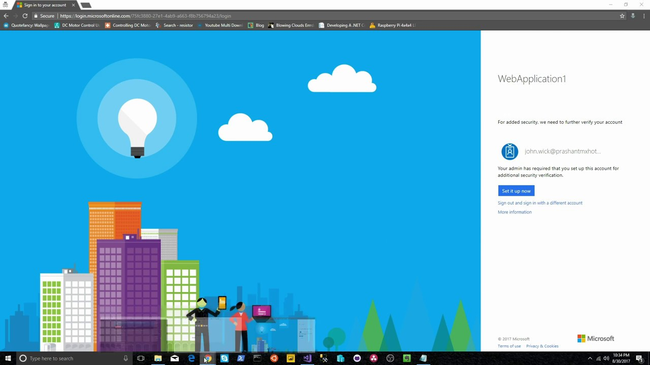 Enable Multi Factor Authentication for users in Azure Active Directory