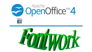 How to use Word Art (Fontwork) in Open Office