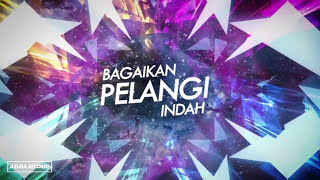 DIRA - Pelangi (Official Lyrics Video)