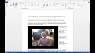 Insert Online Video into Microsoft Word 2013 Documents