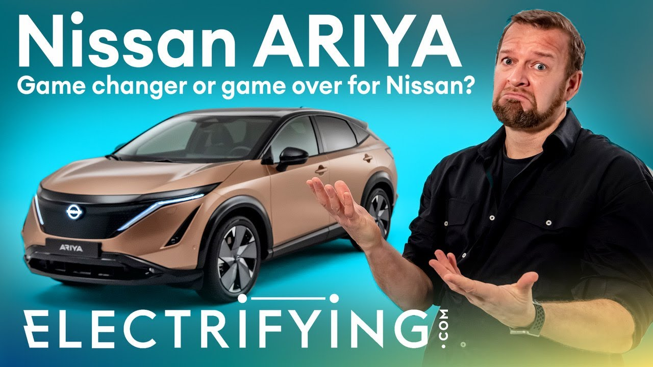 Nissan Ariya electric SUV preview: Game changer or game over for Nissan? / Electrifying