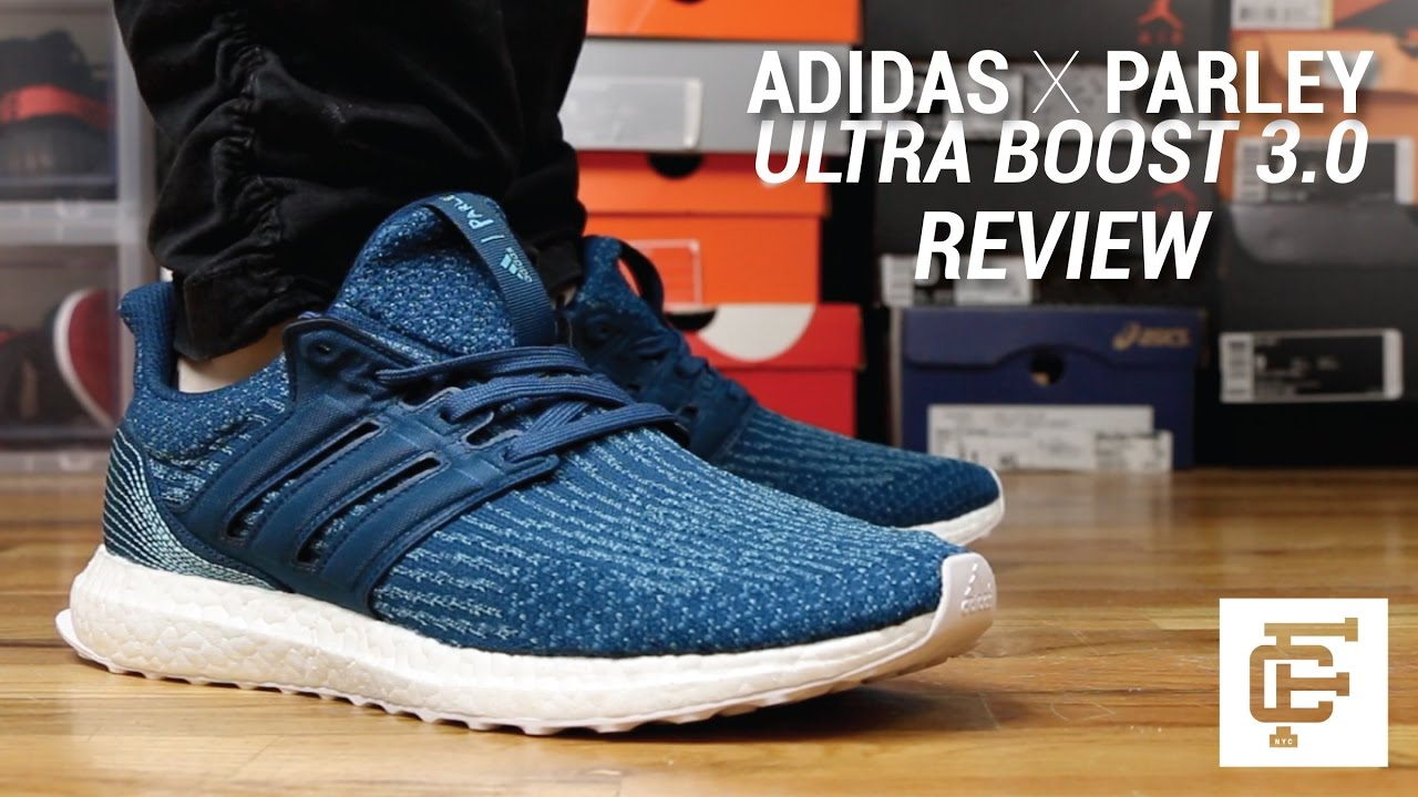 premium selection f341e f3901 ADIDAS X PARLEY ULTRA BOOST 3.0 REVIEW