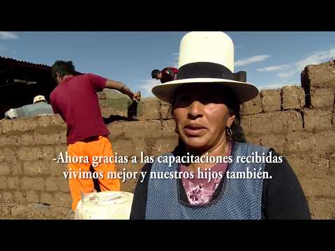Testimonio de la tesorera de riego por aspersión en Nawunpujio, Patabamba, Coya, Cusco.