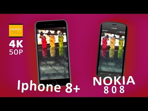 IPHONE 8 Plus vs. NOKIA 808: Iphone camera loses against the Nokia in two important features