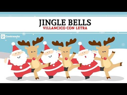 Jingle Bells en Español Cascabel, Christmas Jingle Bells, Feliz Navidad, Villancicos Christmas Carol