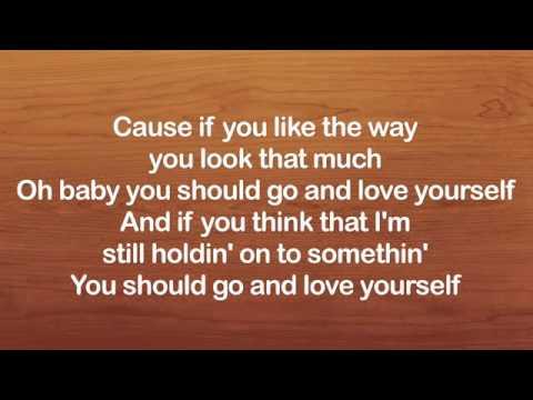 Love Yourself Justin Bieber Karaoke Lyrics Acoustic Guitar Karaoke Instrumental