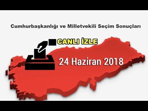 24 Haziran 2018 Canlı Seçim Sonuçları Seçim Sonrası Açıklamalar