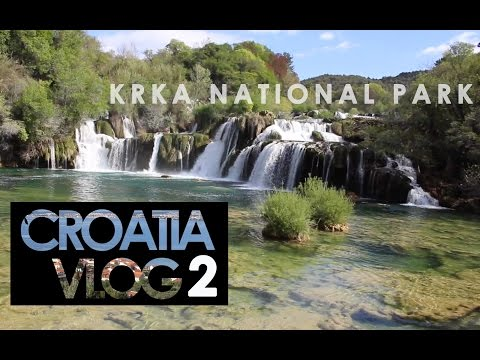 Croatia Travel Vlog 2 - Swimming in Krka Waterfalls