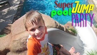 SUPER JUMP POOL PARTY!