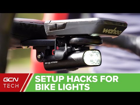 Bike Light Set Up Hacks | How To Mount Bicycle Lights