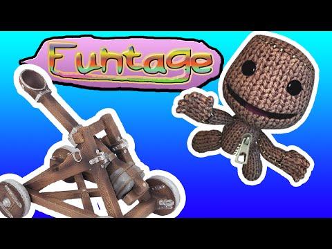 FuNtAgE // LBP3 - BUILD A CATAPULT!!! | kgamer64 | littlebigplanet 3