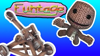 Funtage // Lbp3 - Build A Catapult!!! | Kgamer64 | Littlebigplanet 3