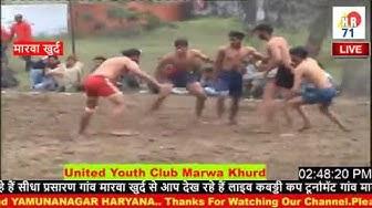 MARWA KHURD KABBADI CUP PART2
