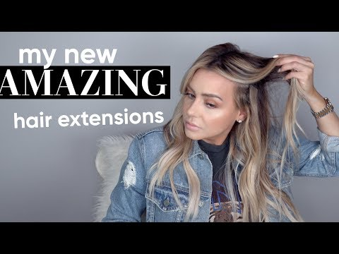 My Amazing New Hair Extensions