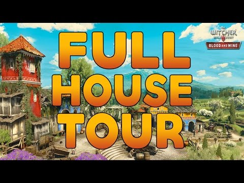 The Witcher 3: Blood and Wine No Place Like Home Walkthrough/FULL HOUSE TOUR