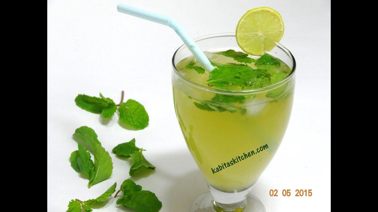 How to Make Pudina Sharbat (Mint Juice) pics